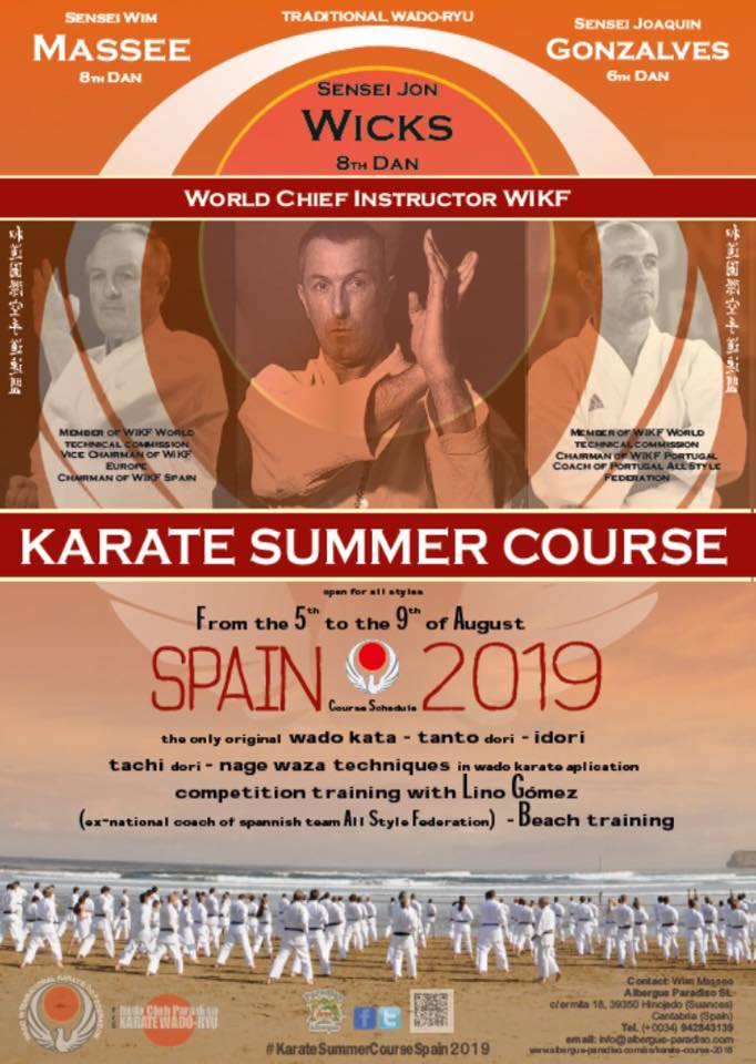 Karate Summer Course Spain 2019